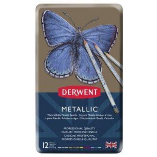 Derwent Metallic készlet, 12 db