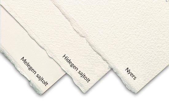 Akvarell papír textúrák