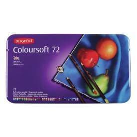 Derwent Coloursoft 72 db-os színesceruza készlet