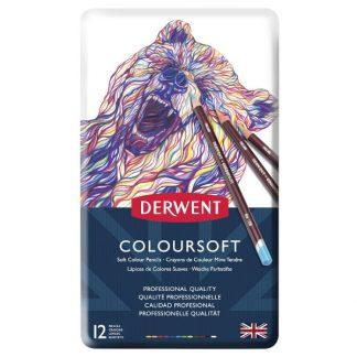 Derwent Coloursoft, 12 db-os készlet