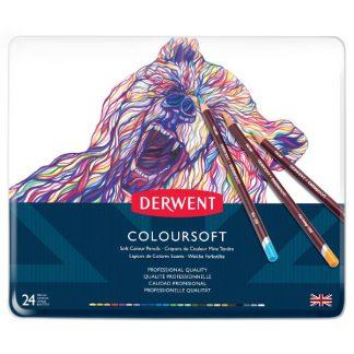 Derwent Coloursoft, 24 db-os készlet