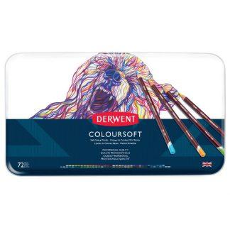 Derwent Coloursoft, 72 db-os készlet