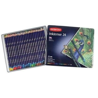 Derwent Inktense 24 db-os akvarell ceruza készlet