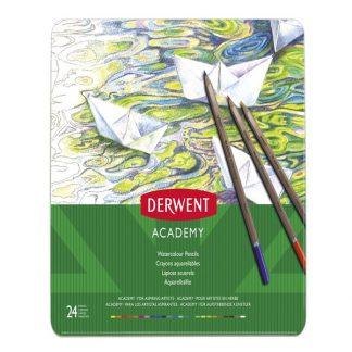 Derwent Academy akvarellceruza, 24 db-os készlet