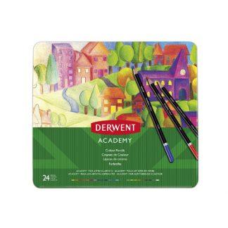 Derwent Academy színesceruza, 24 db-os készlet