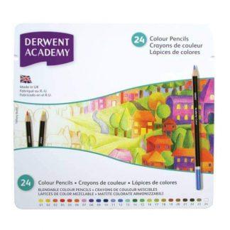 Derwent Academy színes ceruza készlet