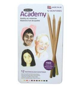 derwent academy bőr tónus akvarell készlet