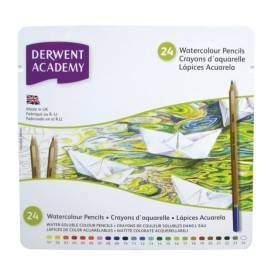 Derwent Academy akvarell ceruza készlet 24 db-os