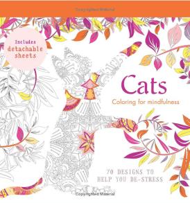 Macskák felnőtt színező könyv