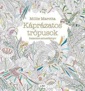 Káprázatos Trópusok felnőtt színező könyv