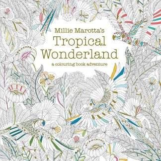 Millie Marotta: Tropical Wonderland felnőtt színező könyv