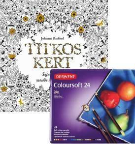 Titkos kert Coloursoft 24-es színesceruza készlettel