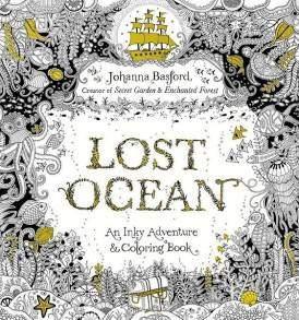 Johanna Basford - Lost Ocean angol nyelvű Felnőtt színező könyv - RajzShop.hu
