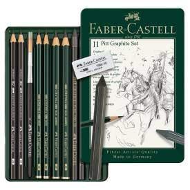 Faber-Castell Pitt grafitkészlet, 11 db-os
