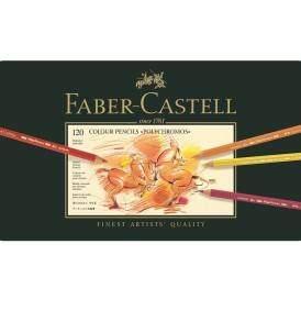 Faber-Castell Polychromos 120 db-os művész színesceruza készlet
