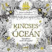 Johanna Basford Kincses Óceán felnőtt színező könyv