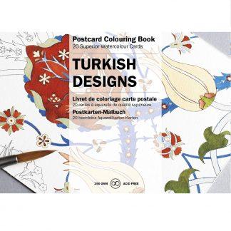 Török minták felnőtt színező képeslapkönyv