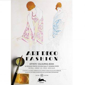 Art deco divat felnőtt színező