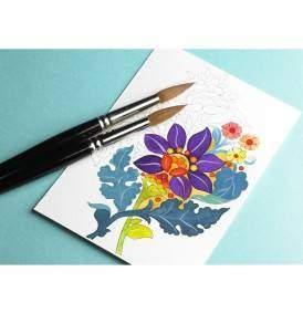 Indiai minták képeslapkönyv