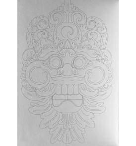 Bali képeslapkönyv