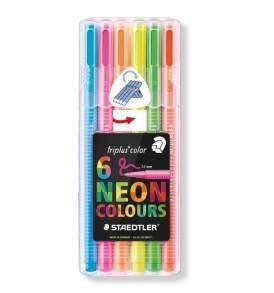 Staedtler Triplus filctoll készlet 6db-os neon színek