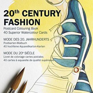 20. század divatképek képeslapkönyv