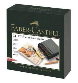 Faber Castell Pitt ecsetfilc készlet 24 db-os