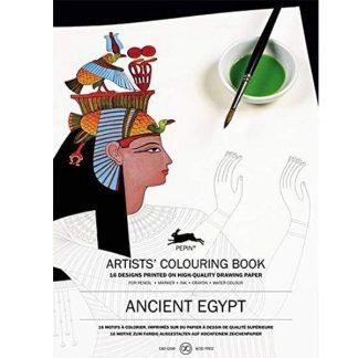 Ókori Egyiptom színező könyv