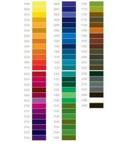 Derwent Inktense akvarell ceruza színskála