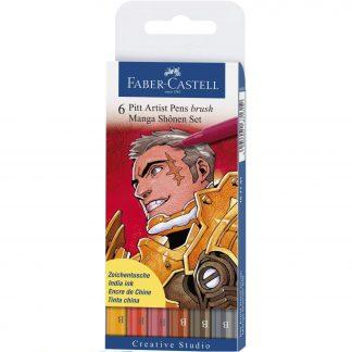 Faber-Castell manga ecsetfilc Shonen