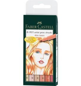 faber-castell bőrszínek ecsetfilc