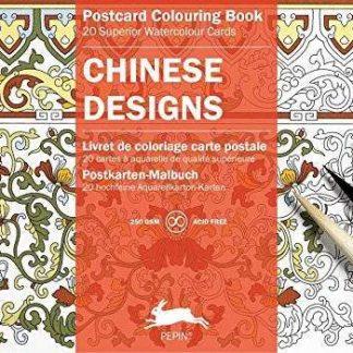 kínai minták képeslapkönyv