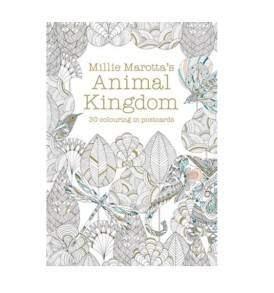Millie Marotta Animal Kingdom képeslapkönyv