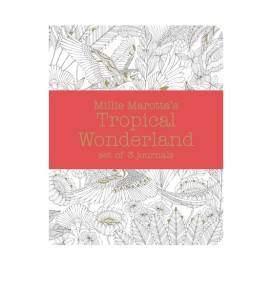 Millie Marotta Tropical Wonderland füzet