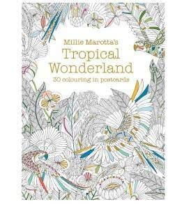 Millie Marotta Tropical Wonderland képeslapkönyv