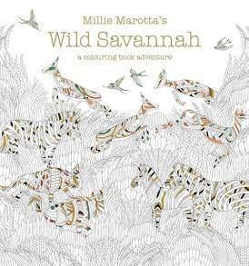 Millie Marotta Wild Savannah felnőtt színező könyv