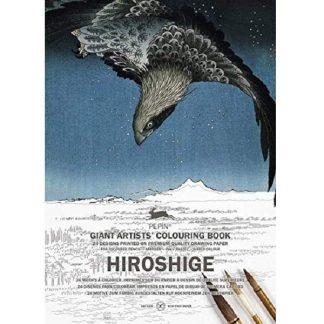 Hiroshige felnőtt színező könyv