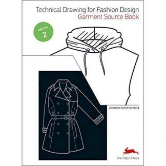 divattervezés műszaki rajzoktató könyv