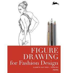Divattervező rajzoktató könyv