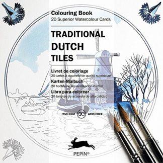 holland csempék színező kártyák