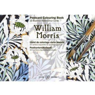 william morris felnőtt színező képeslapkönyv
