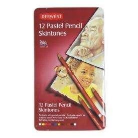 Derwent Pastel pasztellceruza 12 db-os arctónus készlet