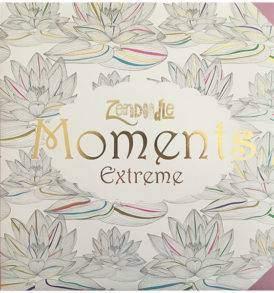 Zendoodle Pillanatok Extrém felnőtt színező könyv