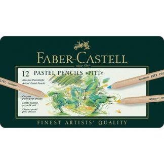 Faber-Castell pitt pasztell ceruza 12db-os-készlet