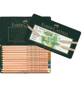 Faber-Castell pasztell 12db-os-keszlet