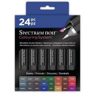 Spectrum Noir alkoholos marker - sötét színek