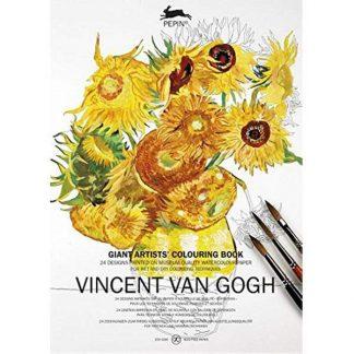 Van Gogh A3-as művész felnőtt színező könyv