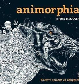 Kerby Rosanes: Animorphia felnőtt színező könyv