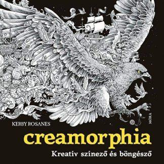 Kerby Rosanes: Creamorphia felnőtt színező könyv
