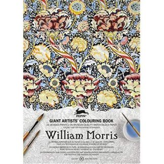 William Morris A3-as felnőtt színező könyv
